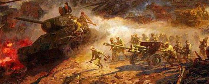 На Курской огненной дуге.